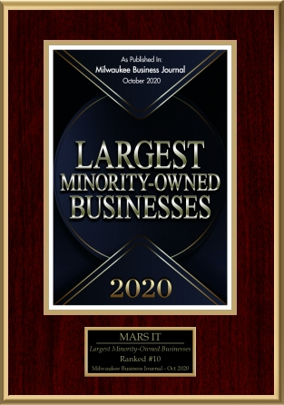 Largest minority owned business